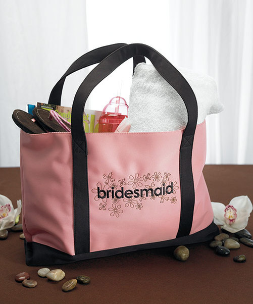 Bridesmaid Two Tone Tote