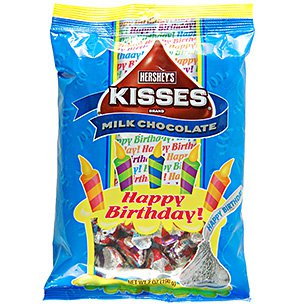 Hershey's Kisses Happy Birthday