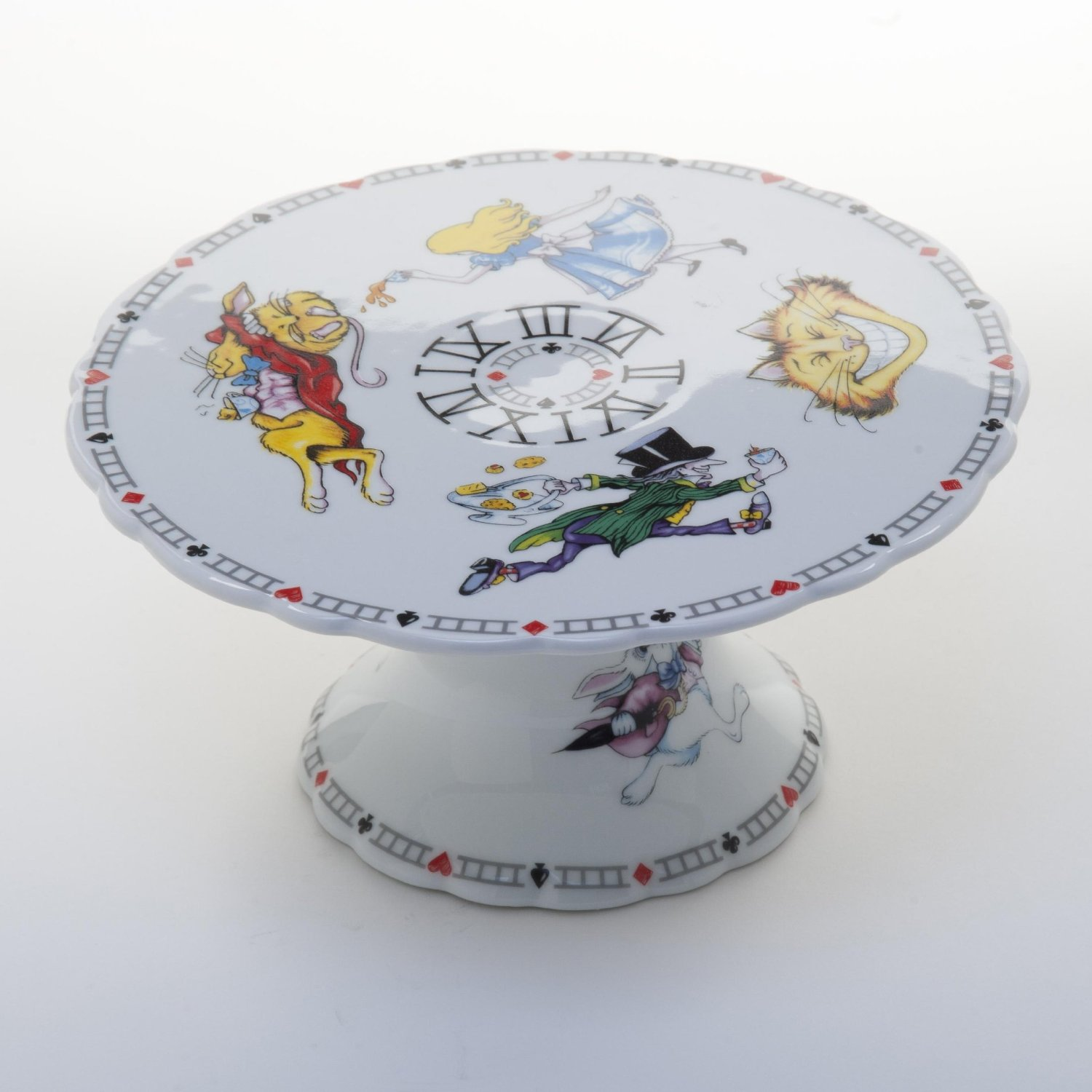 Alice In Wonderland Cake Plate