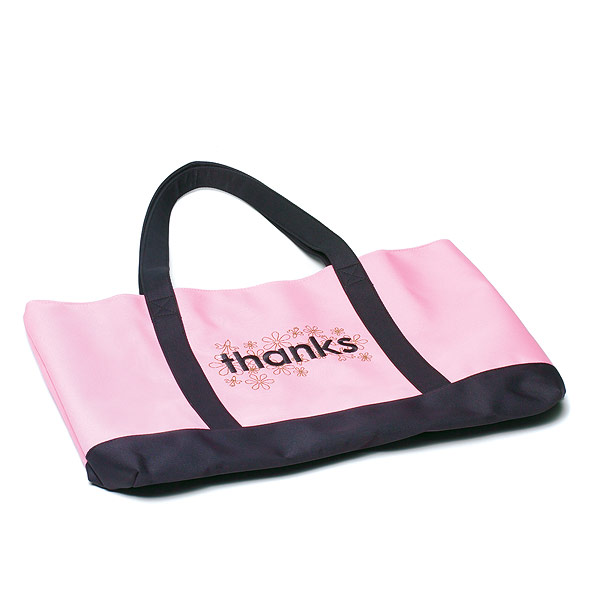 Thanks Two Tone Tote Bag