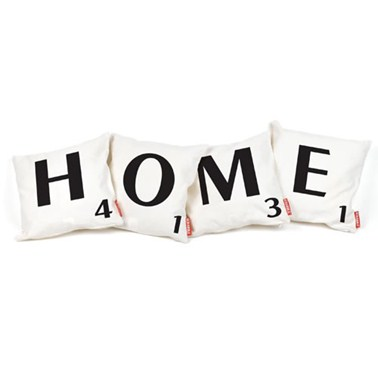 Scrabble 'Home' Cushion Set