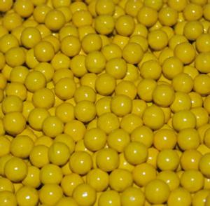 Shimmer Gumballs ~ Yellow