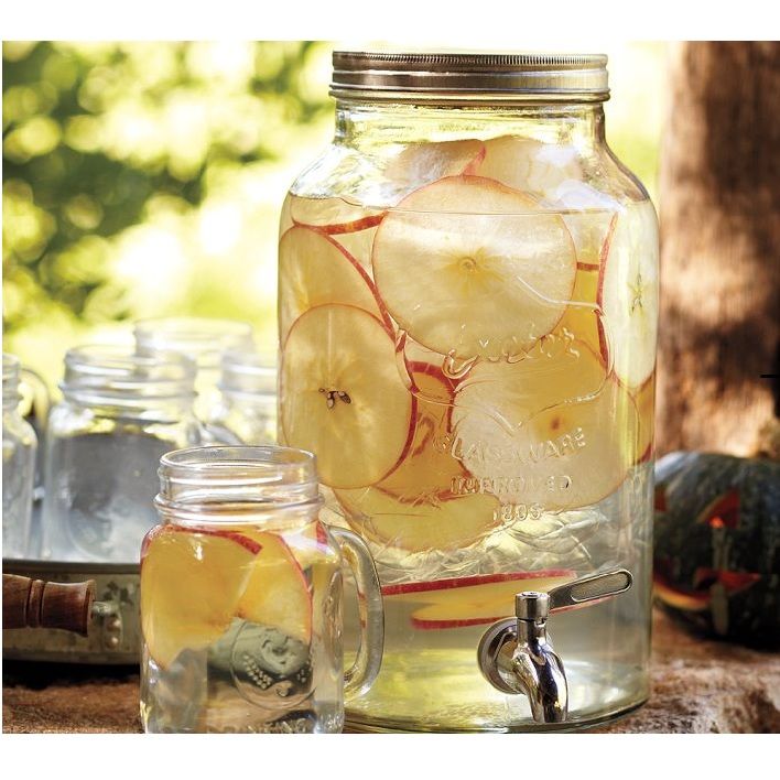 Mason Jar Inspired drink dispenser