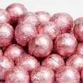 Chocolate Foil Marbles ~ Pink