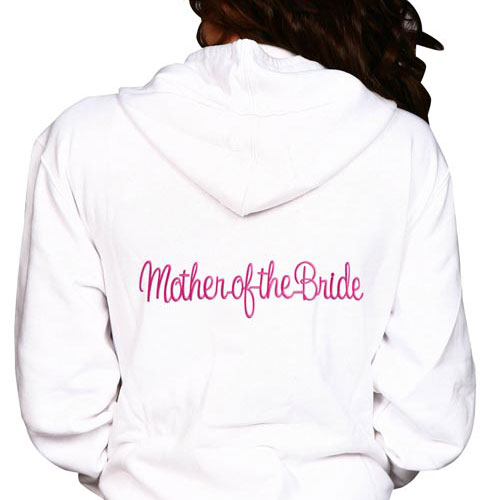 Mother of the Bride/Groom Embroidery Hoodie
